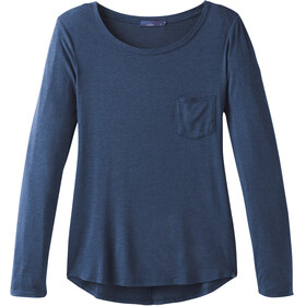 Prana Foundation Longsleeve Shirt Women blue